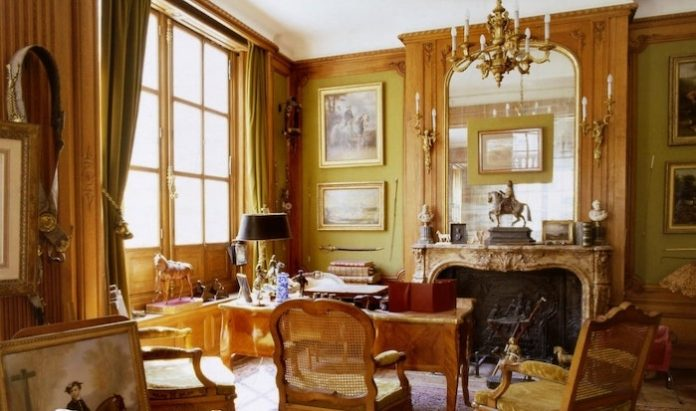 The office of Emile-Maurice Hermès