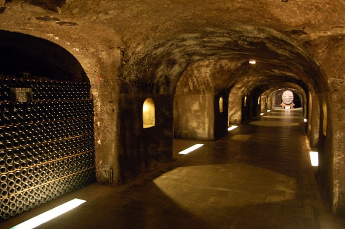 Epernay Champagne Moet Chandon Cave