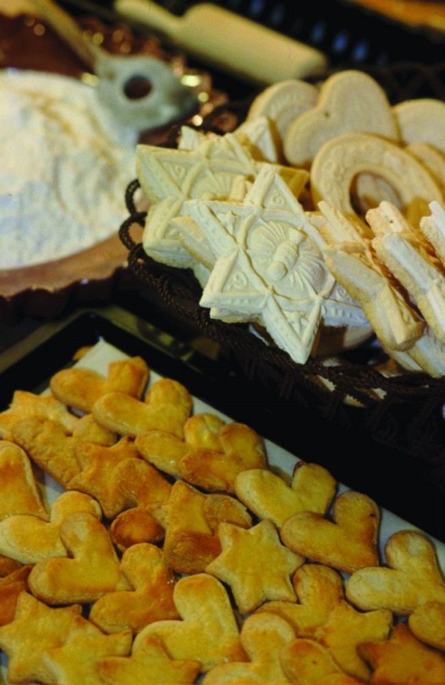 Bredele cookies in Alsace