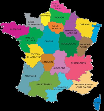 New Map Of France.President Francois Hollande S New Map Of France