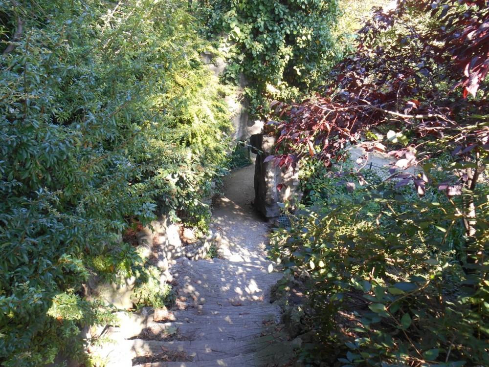 hidden parks of paris the jardin de la vall e suisse. Black Bedroom Furniture Sets. Home Design Ideas