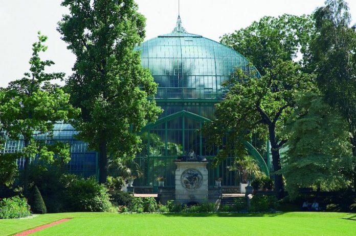 Serres d'Auteuil, Paris garden