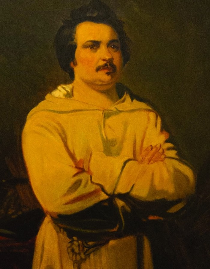 Louis Boulanger's 1836 portrait of Balzac