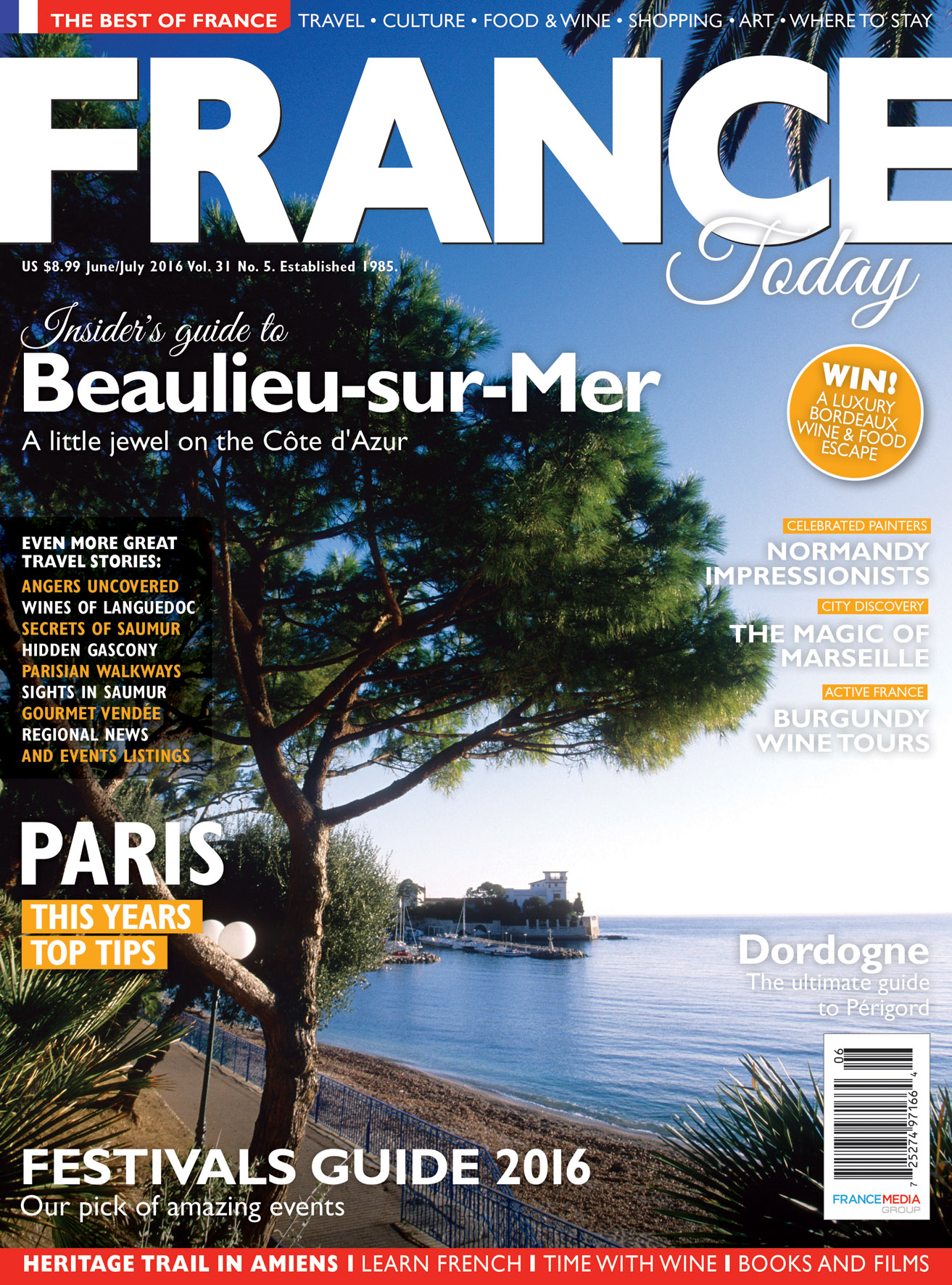 Subscribe To France Today Magazine