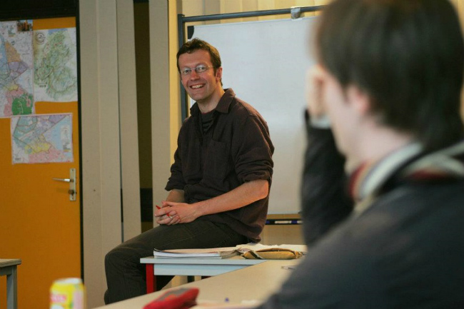 a class at CILFA
