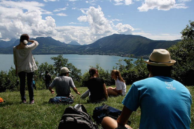 A summer hike organized by CILFA