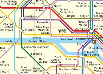 Getting Around Paris Transport In Paris Metro Rer Taxis