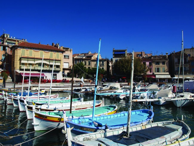 Boats in French harbour