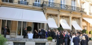 AFMO Gala at Ambassador's Residence/Paris