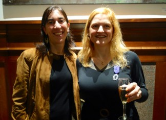 Pauline Carmona, Consul General of France, with Gabrielle Durana, Founder of EFBA