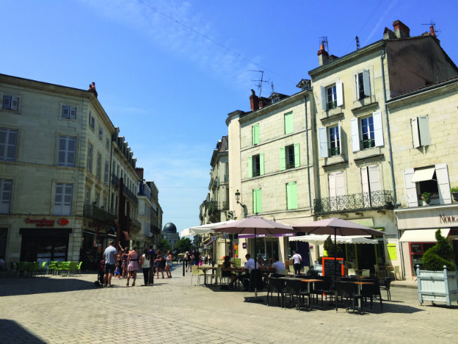 La Place de l'Ancien Hôtel de Ville, Périgueux