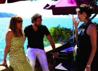 """Maiwenn on the set of """"Mon Roi"""""""