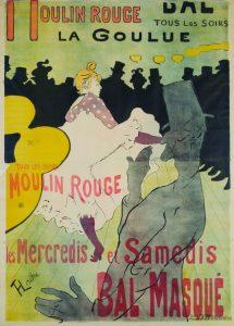 Henri de Toulouse-Lautrec, Moulin-Rouge. La Goulue, 1891 / © Musée Toulouse-Lautrec