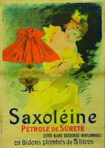 Jules Chéret, Saxoléine, 1896 / © musée des Beaux-arts Jules Chéret