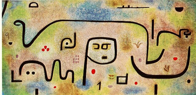 Paul Klee's Insula Dulcamara