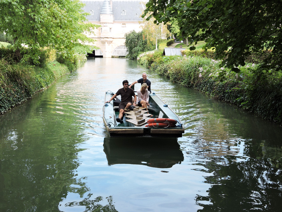 Chalons En Champagne Boat Tour France Today