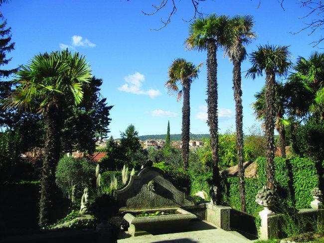 the garden at Le Paraïs. photo: Thirza Vallois