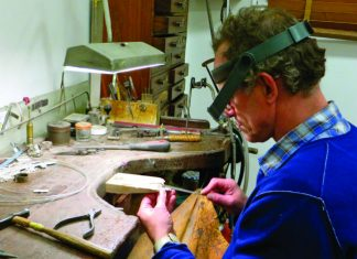 jewellery craftsman Didier Guillemain