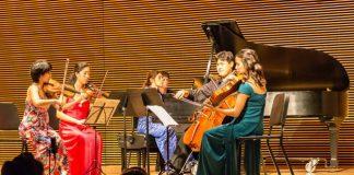 Ensemble San Francisco performing at Le Festival, June 19, 2015