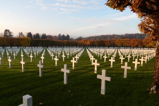 American Cemetery at Romagne-sous- Montfaucon in Meuse, Lorraine (S. Epis)