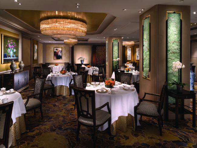 courtesy of Shang Palace, Shangri-La Hotel, Paris