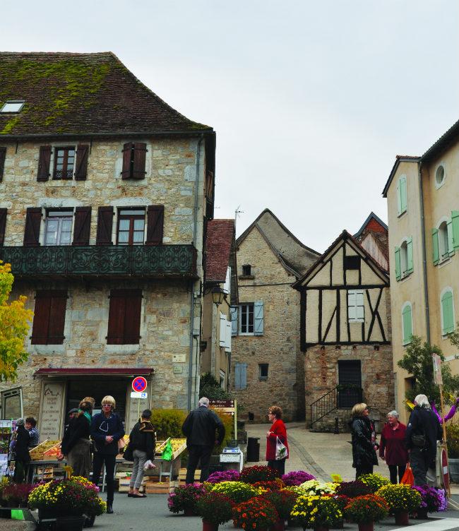 a Saffron Festival is held each autumn in Cajarc