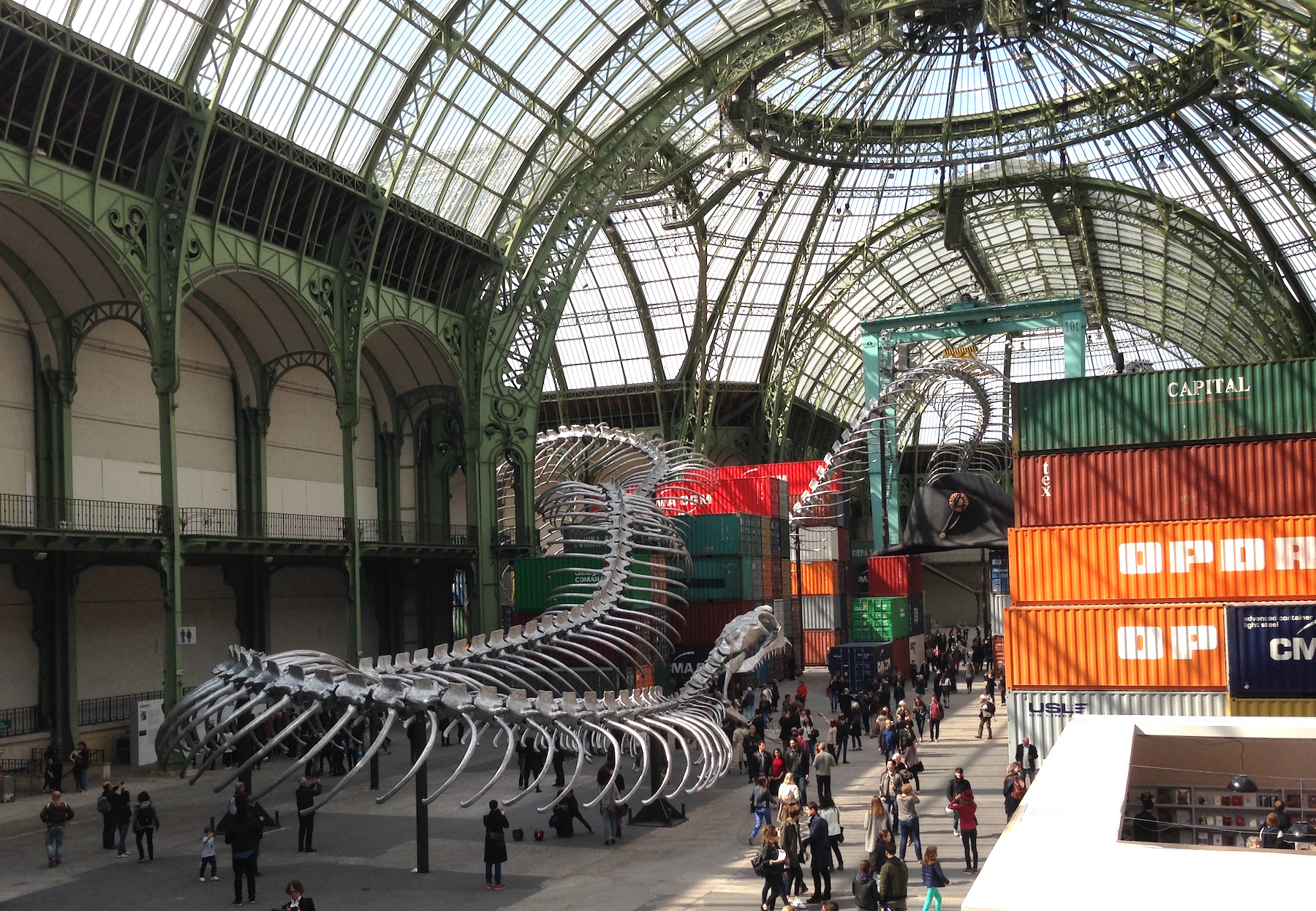 monumenta 2016 a hulking serpent invades the grand palais in paris. Black Bedroom Furniture Sets. Home Design Ideas