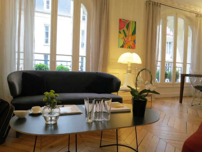 Lounge at Relais 12 Bis Paris