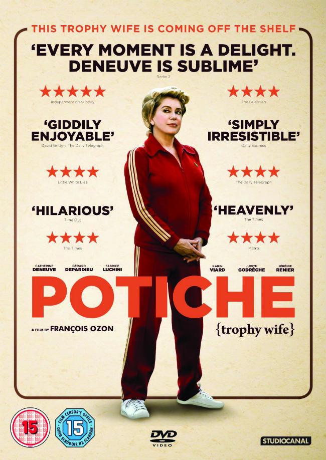 """Catherine Deneuve in """"Potiche"""""""