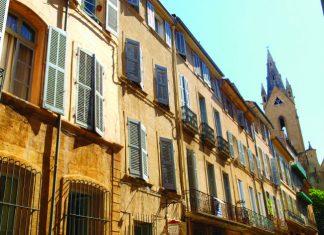 Rue Cardinale, mazarin Quarter, Aix-en-Provence