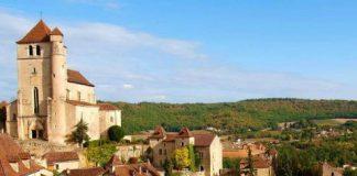 The village of St-Cirq Lapopie