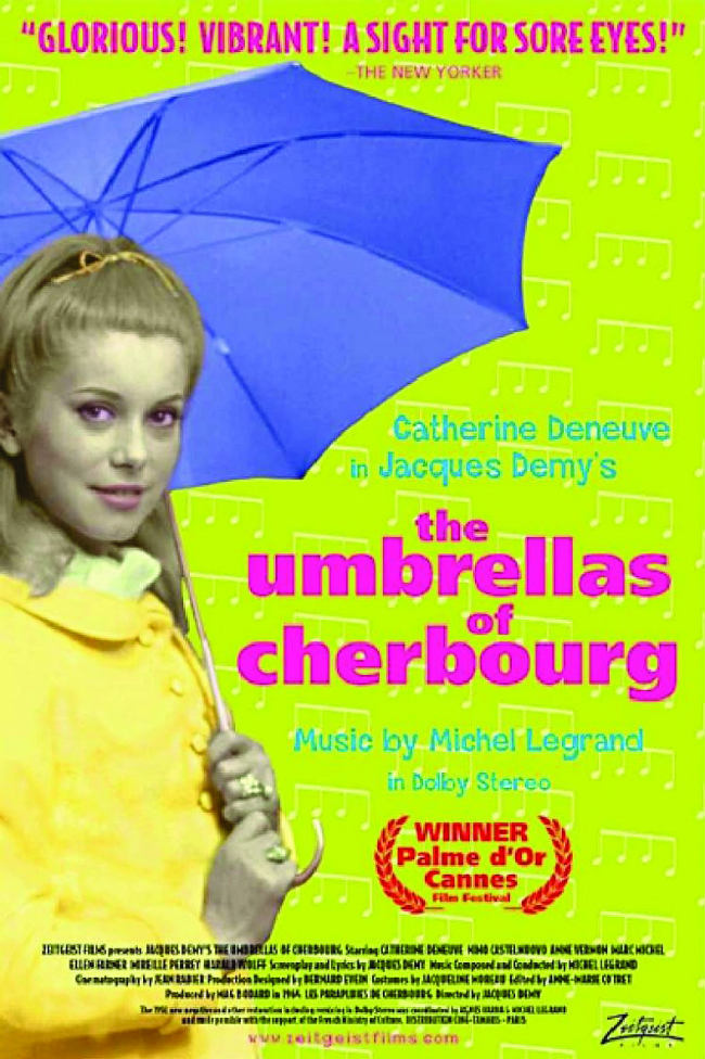 "Catherine Deneuve in ""The Umbrellas of Cherbourg"""