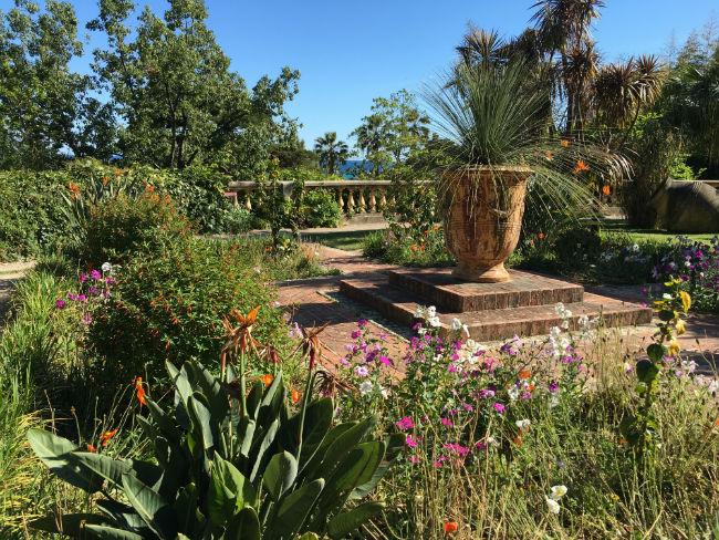 The Val Rahmeh botanical gardens in Menton