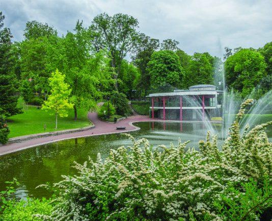 The English-style Jardin Lecoque