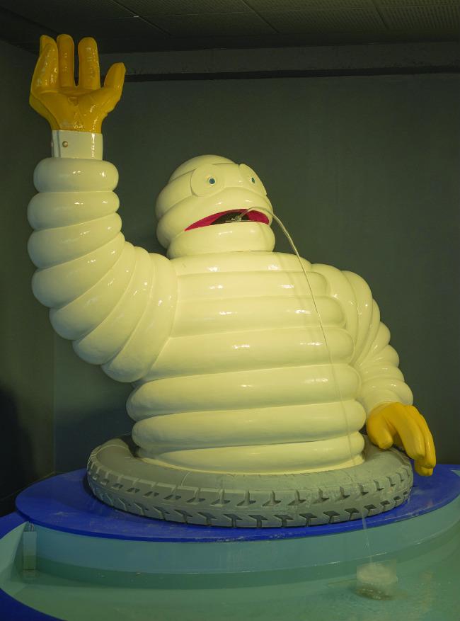 Bibendum, the Michelin man