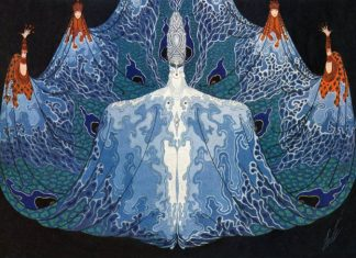 An Erté 'costume collectif'