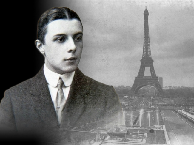 Erté and the Eiffel Tower