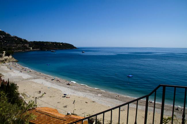 Beach near Roquebrune-Cap-Martin