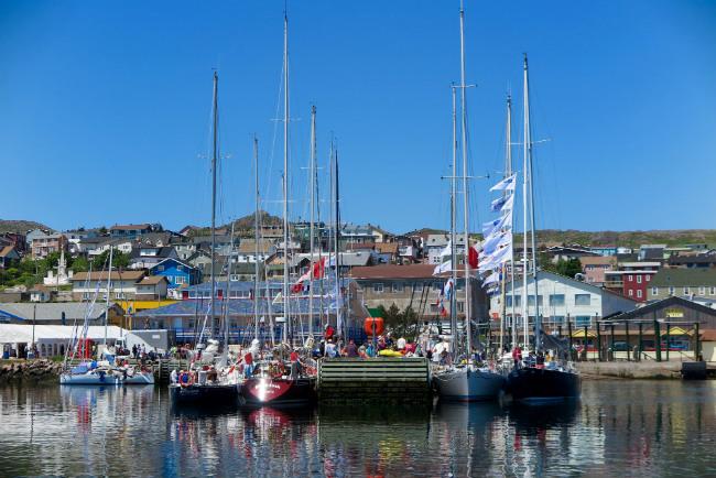 St Pierre, yachts