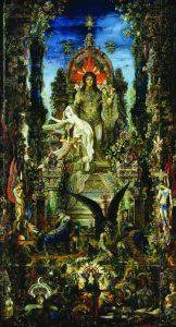 Jupiter  et Sémélé,  by Gustave Moreau