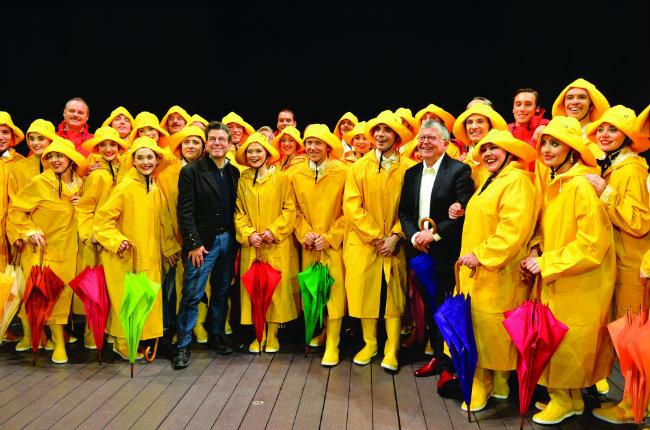 Singin in the Rain, théâtre du Châtelet