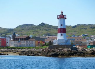 Pointe aux Canons Lighthouse, Saint-Pierre