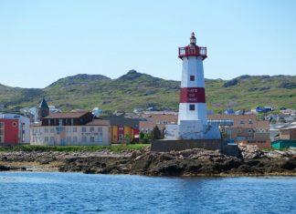 Pointe aux Canons Lighthouse, Saint-Pierre