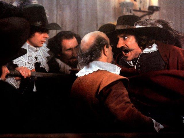 Gérard Depardieu in Cyrano de Bergerac