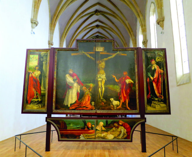Issenheim Altarpiece at the renovated Unterlinden Museum