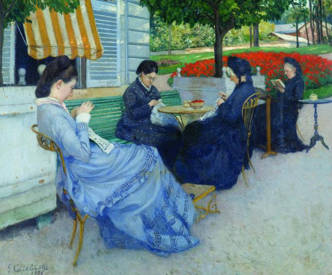 Portraits à la campagne de Gustave CAILLEBOTTE
