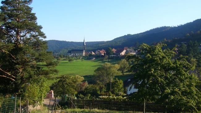 The village of Thannenkirch