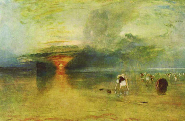 Turner, Beach at Calais