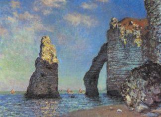 Claude Monet, Les Falaises à Étretat