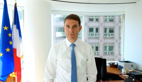 Emmanuel Lebrun-Damiens, Consul General of France in San Francisco